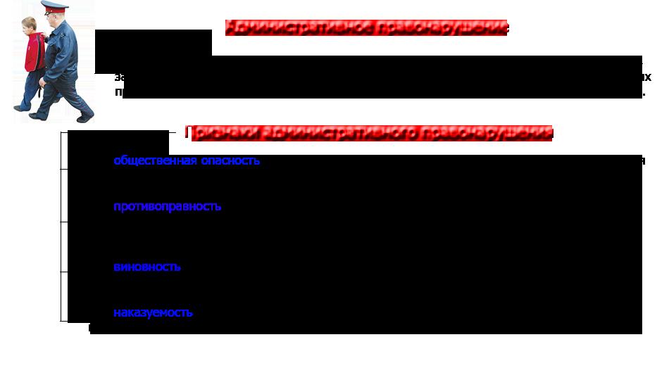 Юридический состав правонарушения