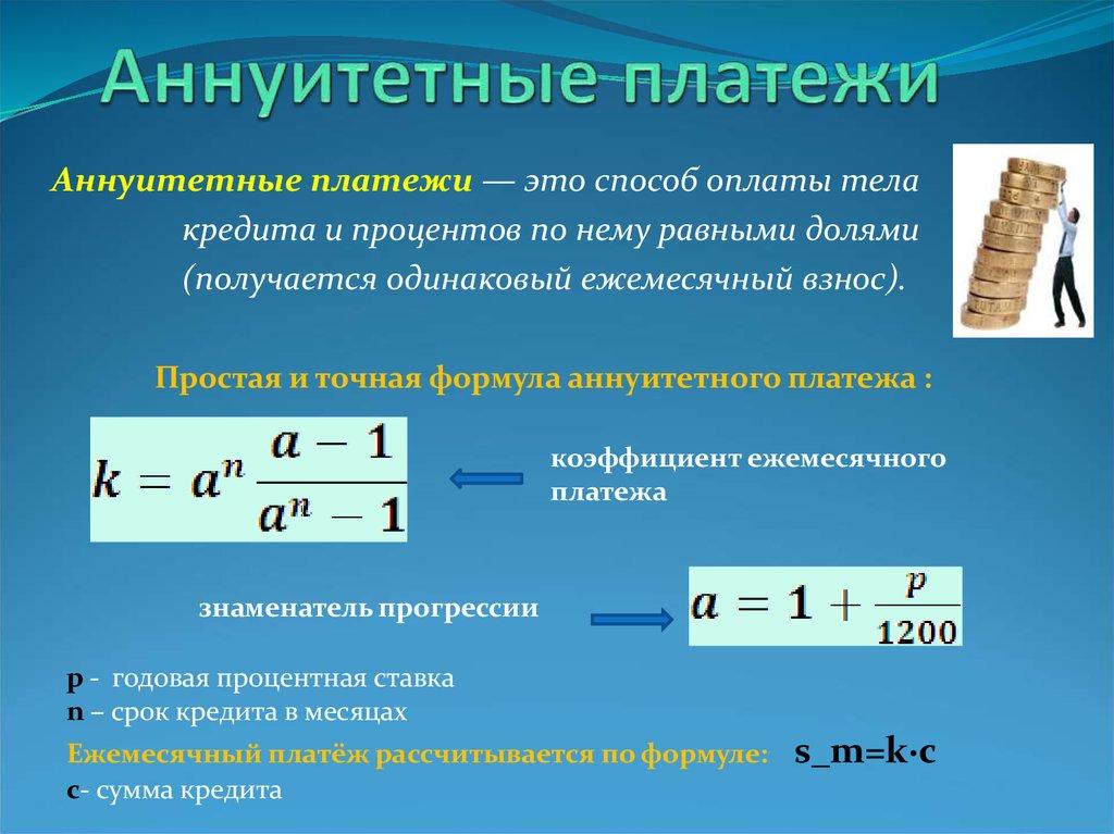 Погашение кредита аннуитетными и дифференцированными платежами: что это? | domosite.ru