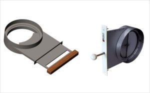 Шибер для вентиляции | вентиляция и климатические системы