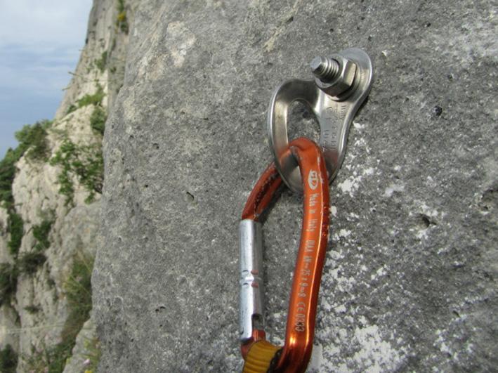Шлямбурный скальный крюк. шлямбуры для альпинизма - xtreamfory