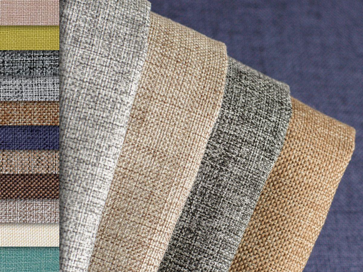 Ткань рогожка: для мебели, интерьера и пошива одежды