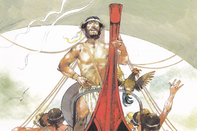 Одиссей (мифология) - царь итаки, сын лаэрта и антиклеи, супруг пенелопы и отец телемаха. персонажи древнегреческой мифологии :: syl.ru