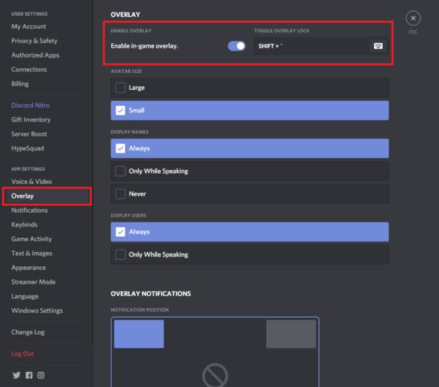 Overlay в discord - как работает и как пользоваться