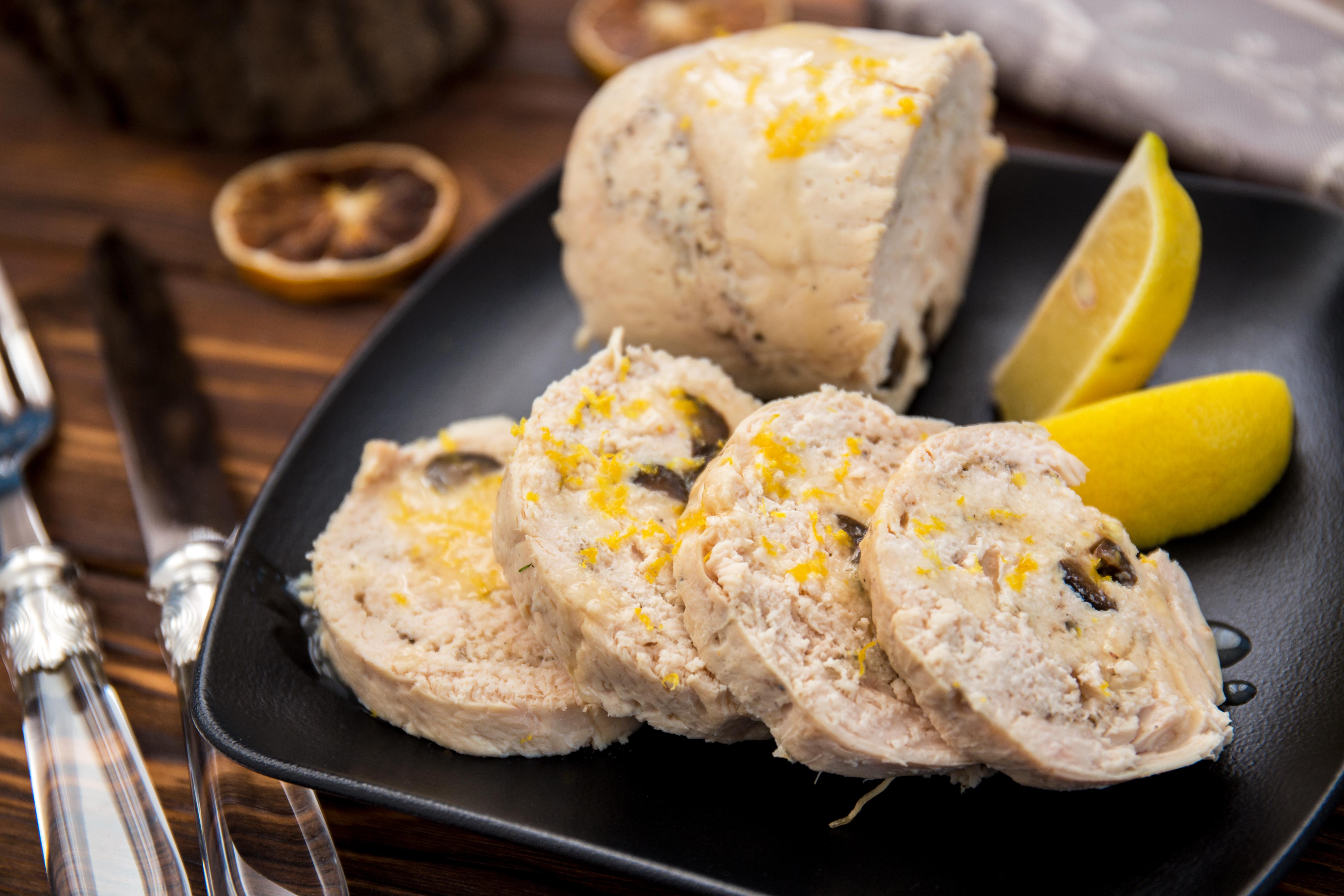 Мини-галантины – кулинарный рецепт