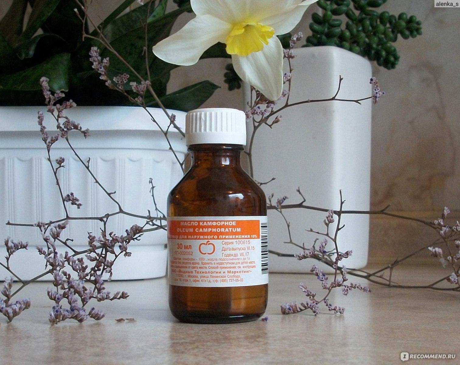 Камфорное масло: для чего применяют камфору, использование масла в народной медицине