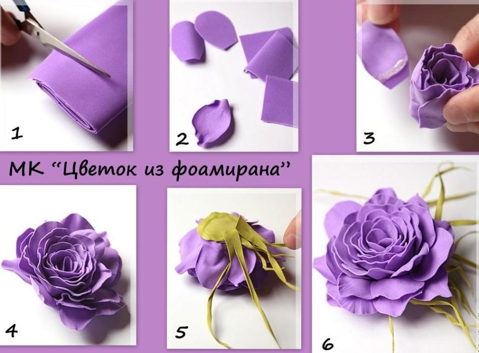 Что такое фоамиран – виды и инструкция по выбору для цветов и других изделий