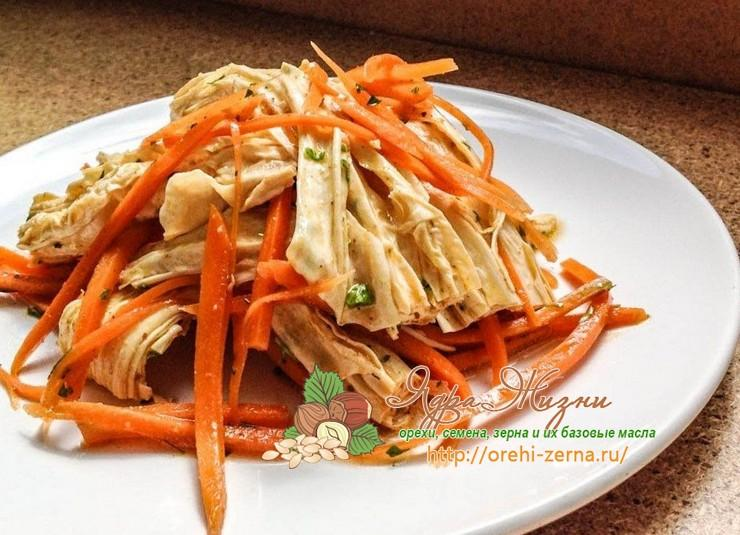 Салат из спаржи по корейски - хорошо отзываются отечественные диетологи: рецепт с фото и видео