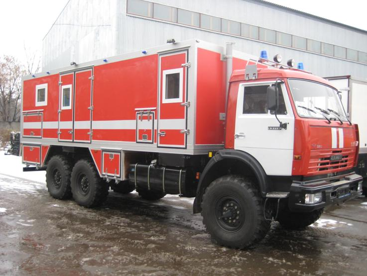 Пожарный автомобиль