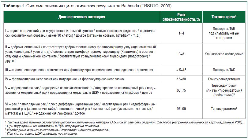 Интерпретация (расшифровка) результатов цитологии   университетская клиника