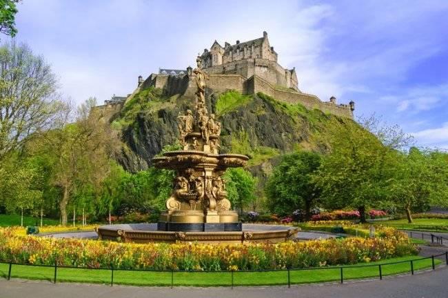 Где находится шотландия