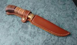 Ножны для ножа своими руками: из кожи, дерева, кайдекса
