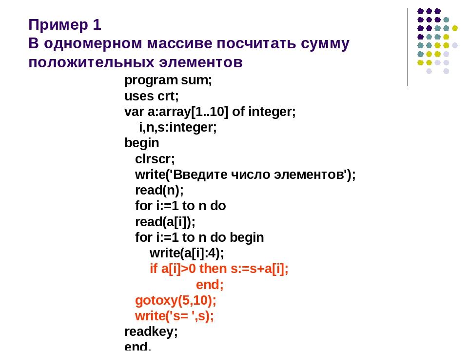 C++. массивы. одномерные массивы.инициализация массива | bestprog