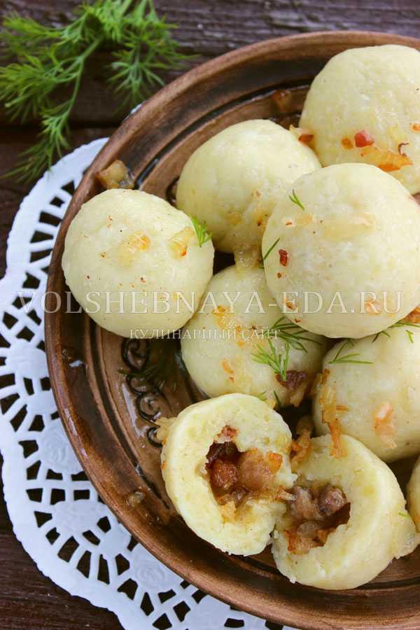 Пражские кнедлики – национальное блюдо чехии из муки, воды и яиц