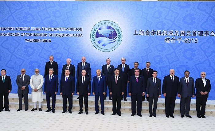 Шанхайская организация сотрудничества - shanghai cooperation organisation
