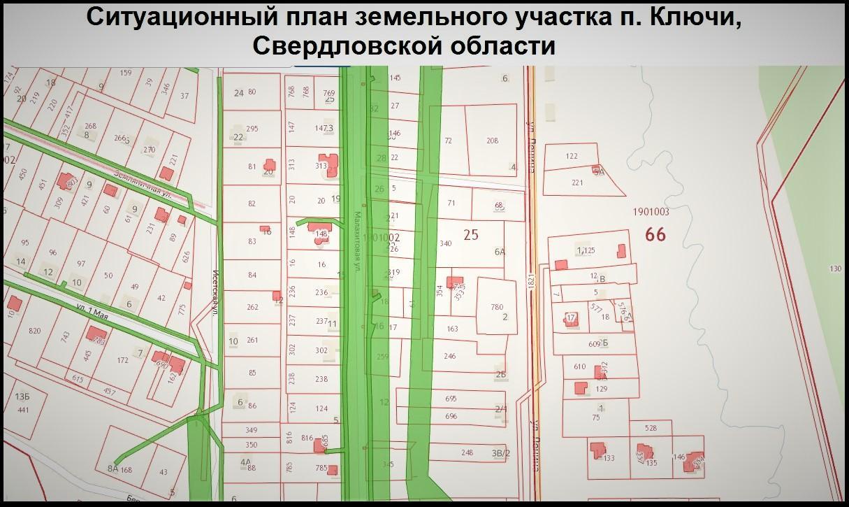 Ситуационный план земельного участка не выходя из дома