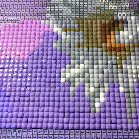 Алмазная мозаика: что это такое, как делать бриллиантовую вышивку, техника выполнения, схемы, как делать картину своими руками