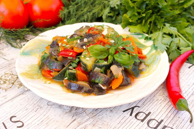 Соте из овощей и баклажанов - 3 лучших рецепта овощного соте