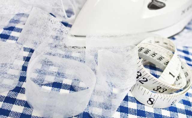 Как использовать флизелин для ткани