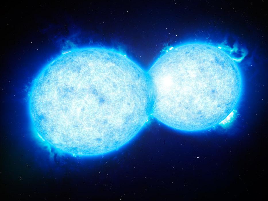 Двойные звезды во вселенной