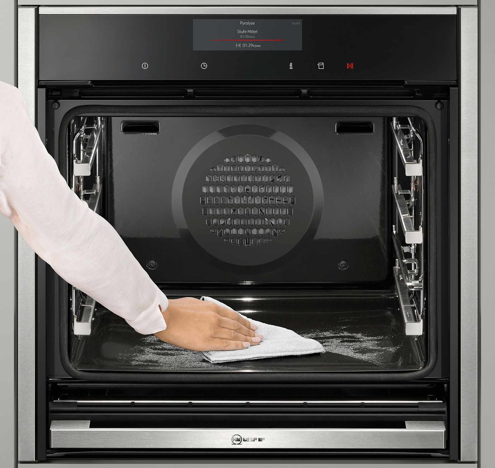 Каталитическая очистка духовки - что это такое и как работает, отличие от пиролитической или гидролизной