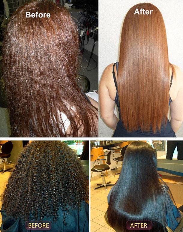 Жидкий кератин для волос - отзывы, фото до и после