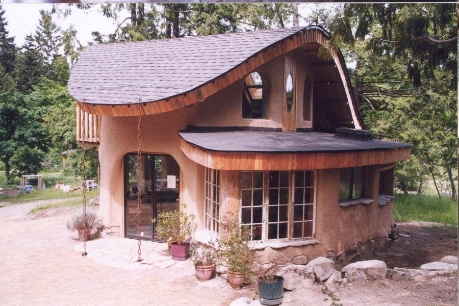 Саманный дом: проект, изготовление «глинобетона» и технология строительства
