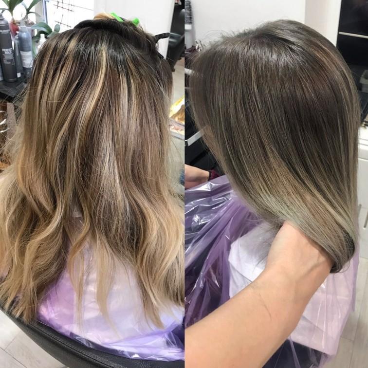 Техника окрашивания балаяж на все типы волос