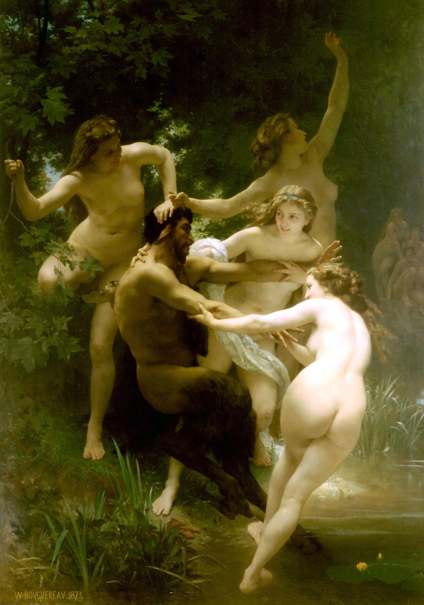 Нимфа – это дочь и хранительница природы