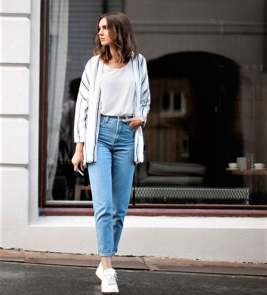 Что такое джинсы мом и почему они опять на пике моды?   самая любимая!