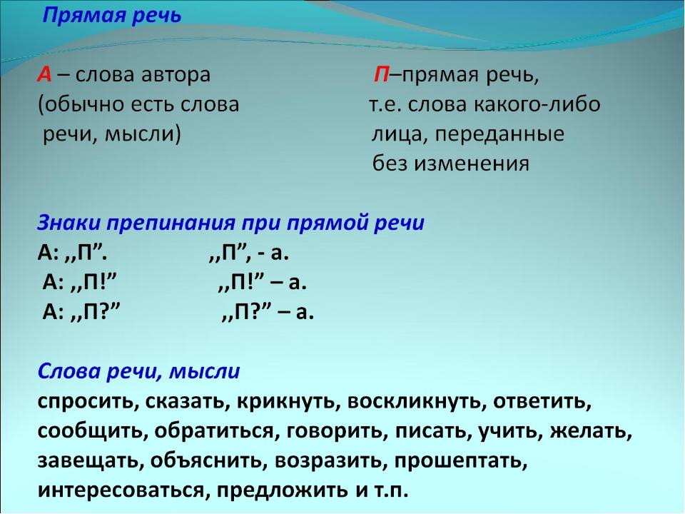Что такое прямая речь в русском языке: оформление, примеры, правила, как пишется и как выделяется