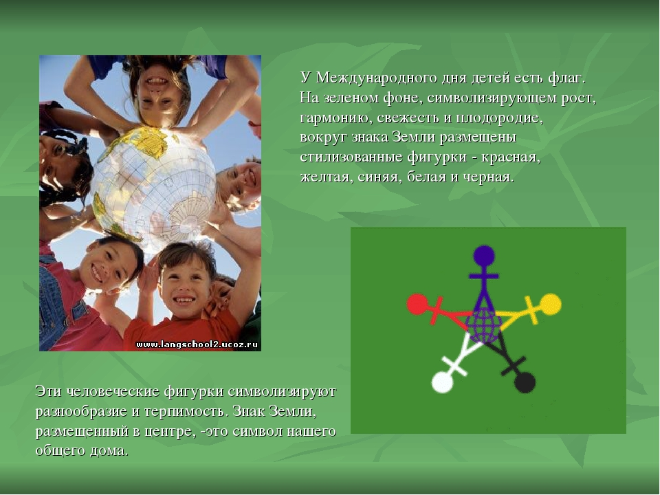 Международный день защиты детей: история праздника