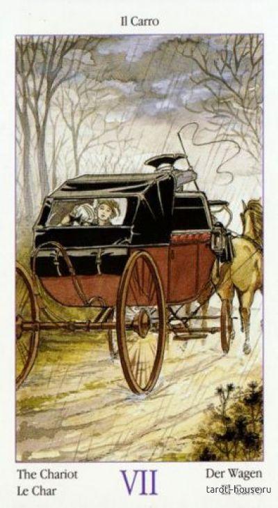 Карта таро колесница (7 аркан): значение и сочетание с другими картами