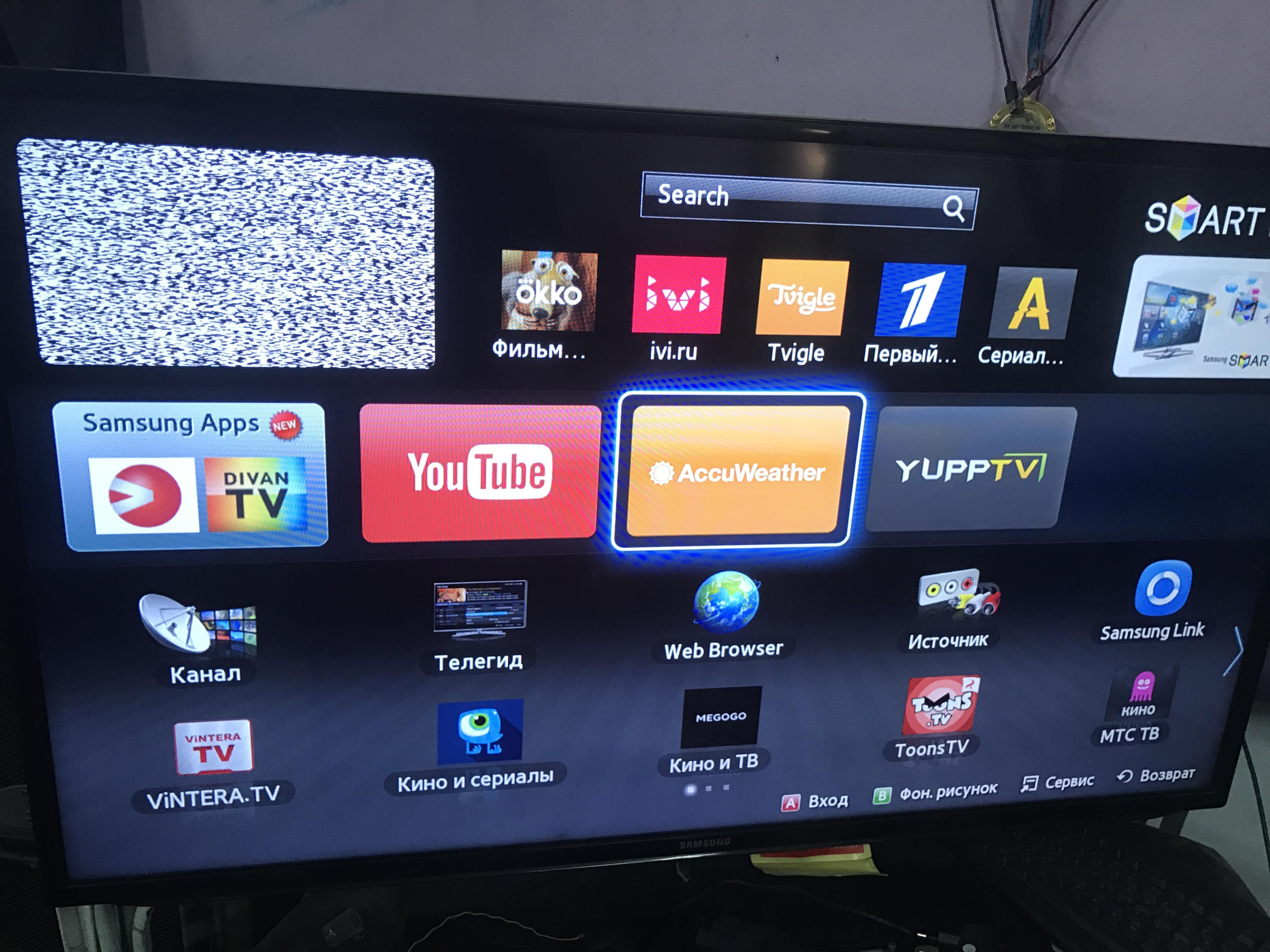 Карта сайта о телевизорах
