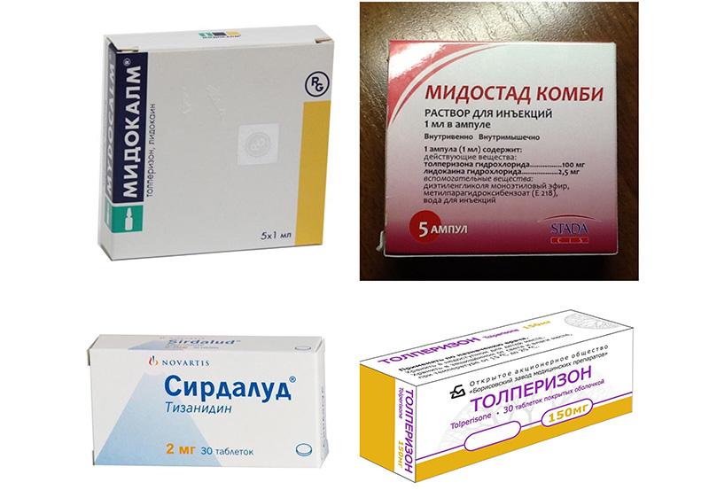 Миорелаксанты - что это такое, лечение остеохондроза, побочные действия, привыкания, сомнения в эффективности.