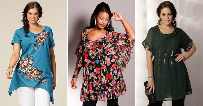 Модные женские туники – новинки 2020 года