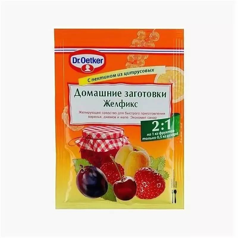 Можно ли добавлять желфикс в горячее варенье. желфикс: растительный загуститель для желе и варенья. состав и полезные свойства смеси желфикс dr.oetker