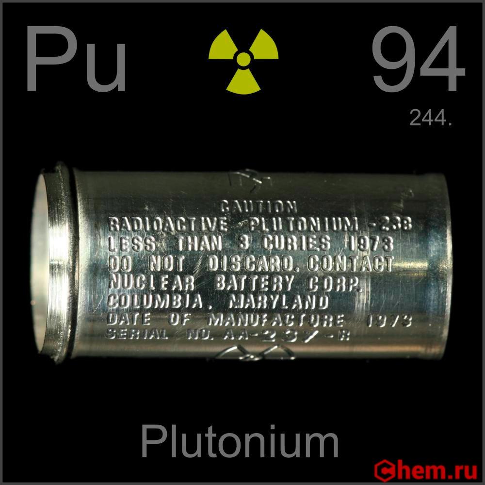 «протухший» американский плутоний (igobel)