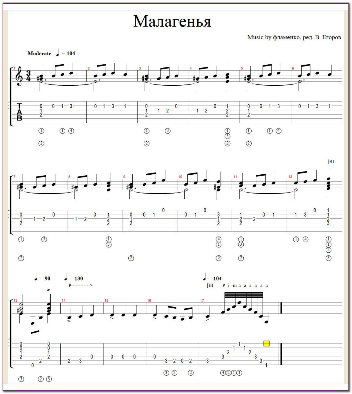 Как читать гитарную табулатуру - wikihow