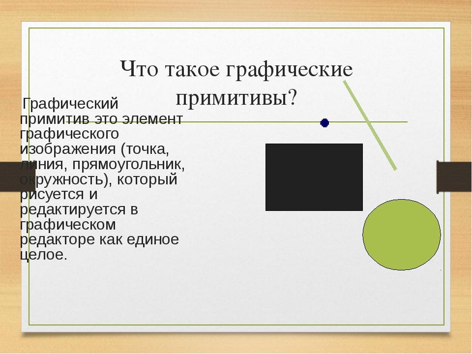 §41. графические примитивы