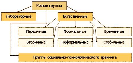 44.виды малых групп. шпаргалка по социальной психологии