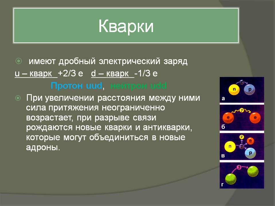 Кварк — википедия с видео // wiki 2