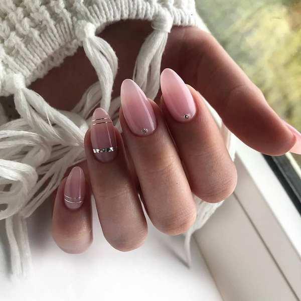Нюдовый маникюр 2020-2021 – топ-11 трендов нюд маникюра, модный нюдовый дизайн ногтей на фото