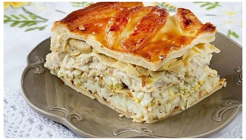 Кулебяка – кулинарный рецепт
