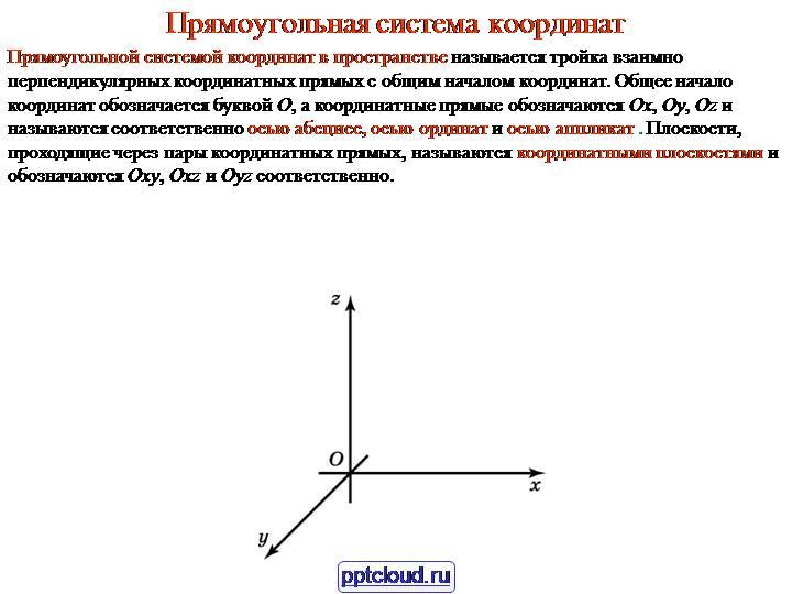 Система координат — википедия. что такое система координат