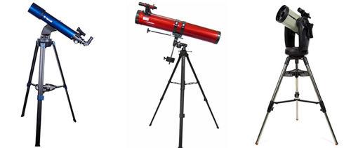Телескопы рефлекторные: описание, устройство, история создания