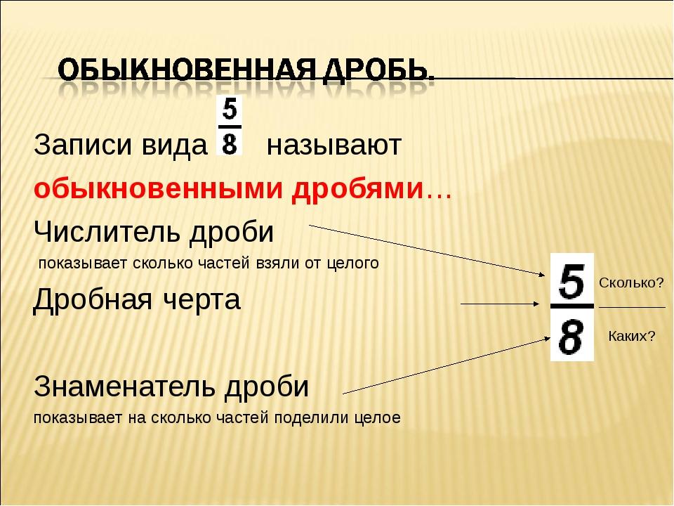 Проясняй слова: математика! что такое числитель? (job.education.apscis.math) : рассылка : subscribe.ru