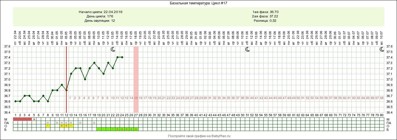 График базальной температуры — методы построения и расшифровки