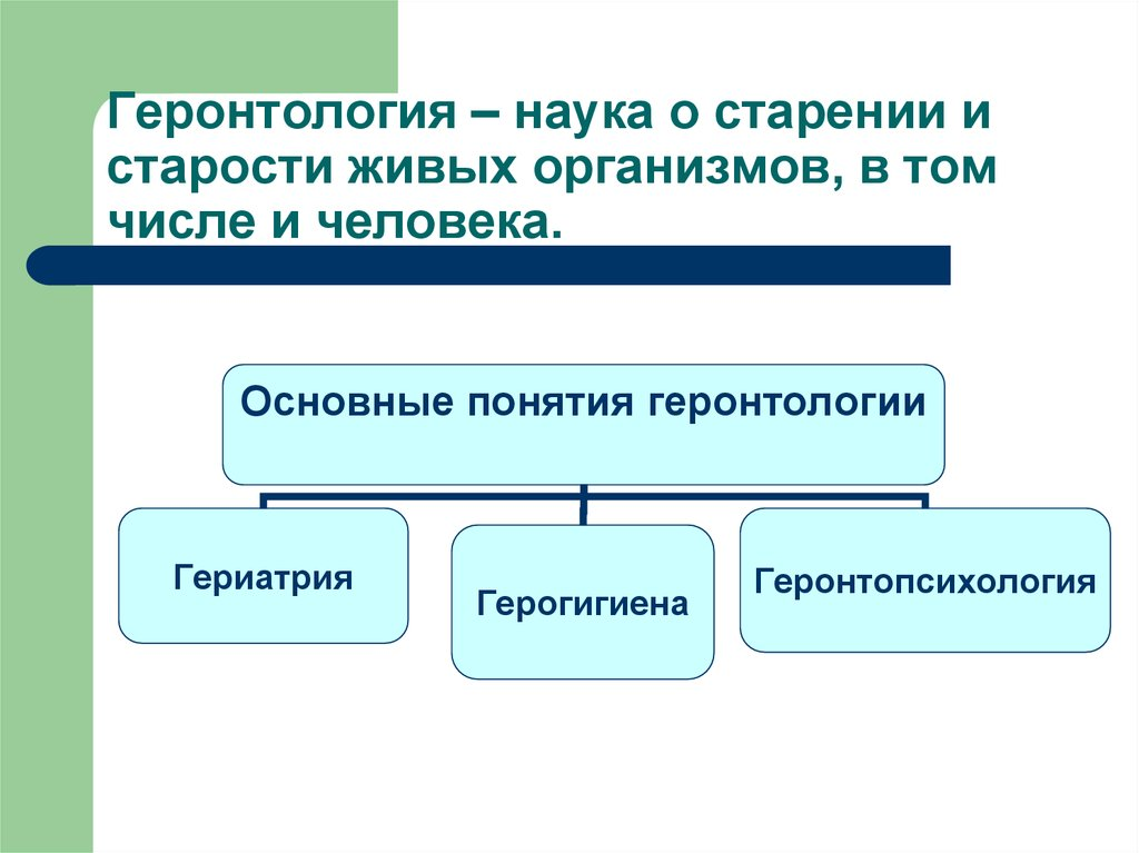Геронтология для пожилых людей в россии — виды, что лечит врач геронтолог