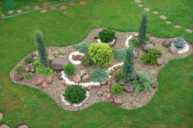 Как сделать рокарий на даче своими руками, обустройство каменной горки в саду