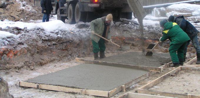 Тощий бетон: характеристики и применение
